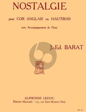 Barat Nostalgie Cor Anglais[Oboe]-Piano
