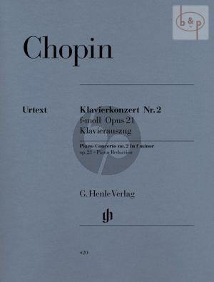 Konzert No.2 f-moll Op.21 (Ed. 2 Piano's) (edited by Ewald Zimmermann)