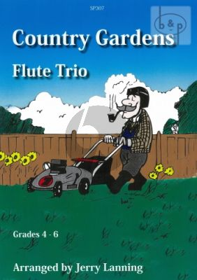 Country Gardens (3 Flutes) (Score/Parts)