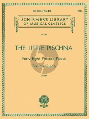 The Little Pischna for Piano