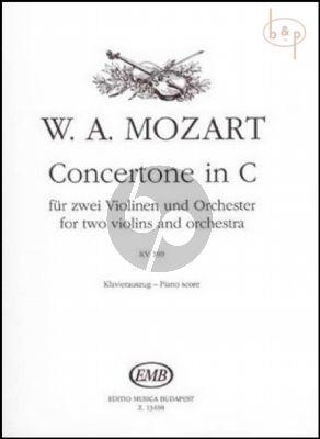 Concertone in C KV 190 2 Violins-Piano