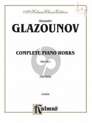 Complete Piano Works Vol.1