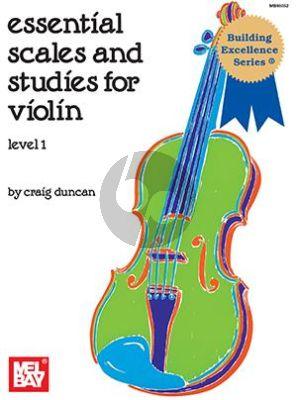 Duncan Essential Scales & Studies level 1