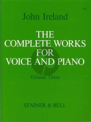 Ireland Complete Works Vol. 3 Medium Voice