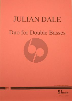 Dale Duo for 2 Double Basses