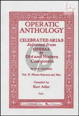 Operatic Anthology vol.2 (Mezzo-Soprano)