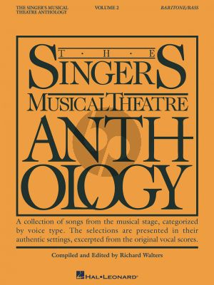 Singers Musical Theatre Anthology Vol. 2 Baritone/Bass (revised) (Compiled by Richard Walters) (Book Only)