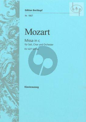 Missa c-minor KV 427[417a] (Soli-Choir-Orch.)