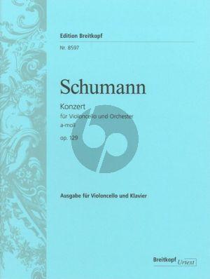 Concerto a-minor Op.129 Violoncello-Piano