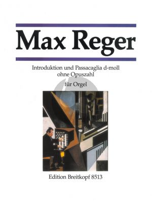 Reger Introduction & Passacaglia d-moll Orgel (Hans Haselböck, Hans Klotz and Martin Weyer)