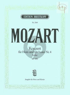 Konzert No.4 Es-dur KV 495 (Kling)