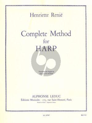 Renie Complete Method for Harp (Vol.1 + 2) (anglais)