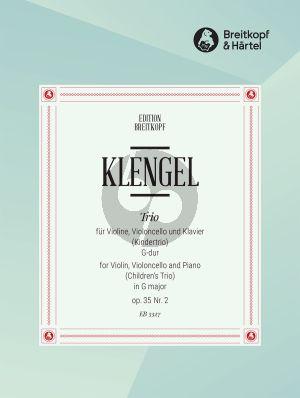 Klengel Kindertrio G-dur Op. 35 No.2 (Violine-Violoncello und Klavier)