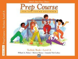 Alfred Prep Course Technic Book Level A