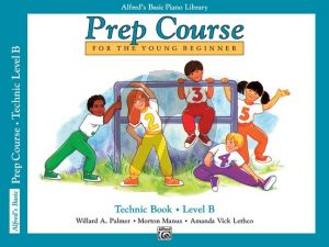 Alfred Prep Course Technic Book Level B