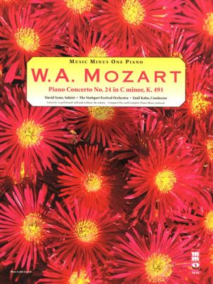 Mozart Concerto No.24 C-Minor KV 491 (Bk-Cd) (MMO)