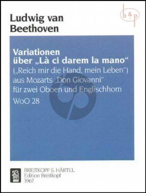 "Variations on ""La ci darem la mano"" (WoO 28) (Parts)"