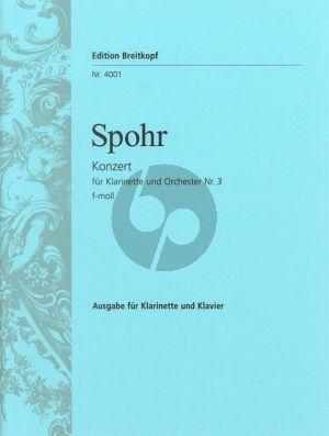 Konzert No.3 f-moll Klarinette-Orch. (KA)