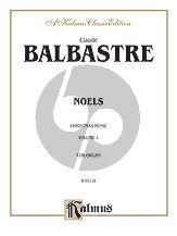 Balbastre Livre de Noels Vol.1 (Christmas Music) Organ