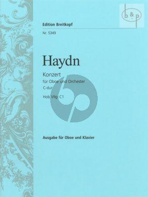 Haydn Konzert C-dur Hob VIIg:C1 Oboe und Orchester (Klavierauszug) (Alexander Wunderer)