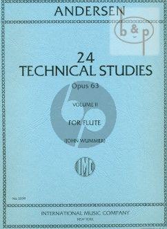 24 Technical Studies Op.63 Vol.2