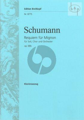Requiem fur Mignon op.98B (Soli[SSAAB]-Choir [SATTBB]-Orch.)