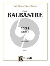 Balbastre Livre de Noels (Christmas Music) Vol.2 Organ