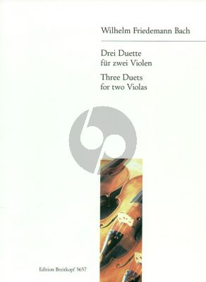 Bach 3 Duette 2 Violas (Joachim Altemark)