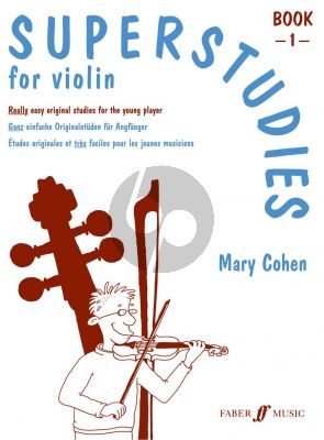 Cohen Superstudies Vol.1 for Violin (Easy Original Studies for the Young Player)