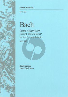 Bach Oster-Oratorium BWV 249 (Kommt, eilet und laufet) KA