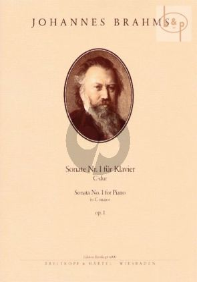 Sonate No.1 Op.1 C-major Piano solo