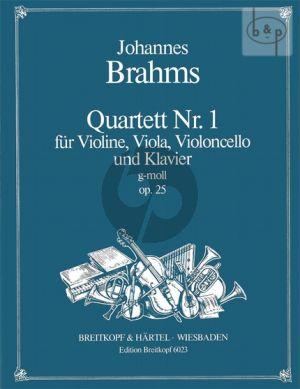 Quartett No.1 Op.25 g-moll