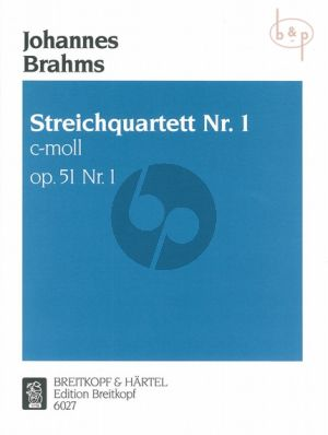 Quartet Op.51 No.1 c-minor