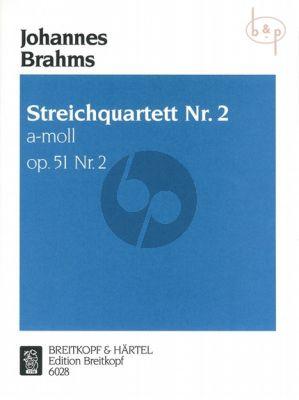 Quartet Op.51 No.2 a-minor 2 Vi.-Va.-Vc.
