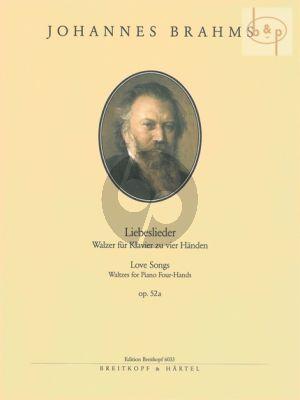 Liebeslieder Walzer Op.52A Klavier 4 Hd.