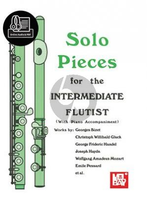 Solo Pieces for the Intermediate Flutist (edited by Dona Gilliam and Mizzy McCaskill) (Book with Audio online)