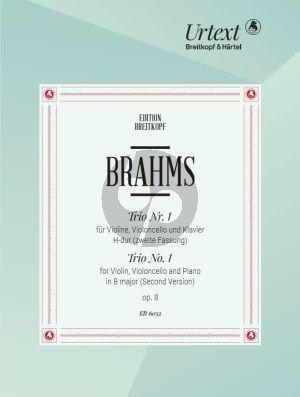 Brahms Trio op.8 H-dur (2e Fassung) Urtext Edition Violine, Violoncello und Klavier (Herausgegeben von Hans Gal)