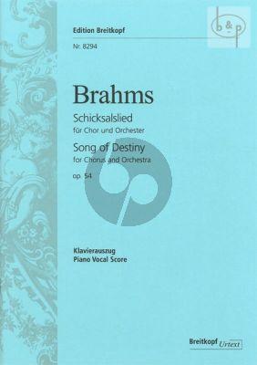 Schicksalslied opus 54 (Chorus-Orchestra)