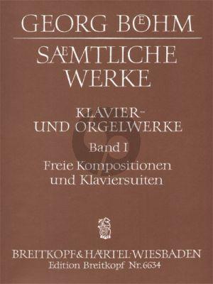 Bohm Samtliche Werke für Tasteninstrumente Vol.1