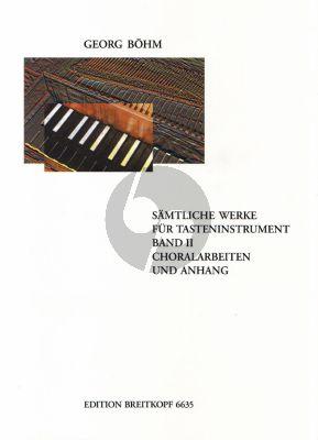 Samtliche Werke für Tasteninstrumente Vol.2 Choralbearbeitungen