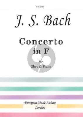 Bach Concerto F-major Oboe-Piano