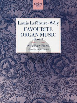 Lefebure/Wely Favourite Organ Music Vol. 1 (9 Easy Pieces)