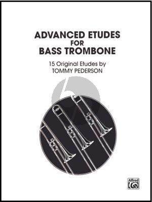 Pederson Advanced Studies Basstrombone (15 Original Etudes)