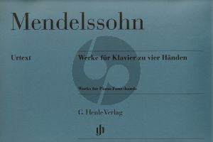 Mendelssohn Werke Klavier 4 Hd. (Henle-Urtext)