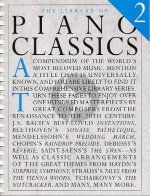 Library of Piano Classics Volume 2