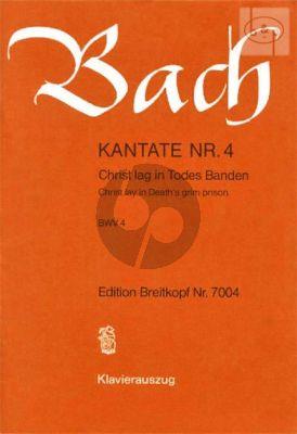 Kantate No. 4 BWV 4 - Christ lag im Todes Banden (Christ lay in Death's grim prison)