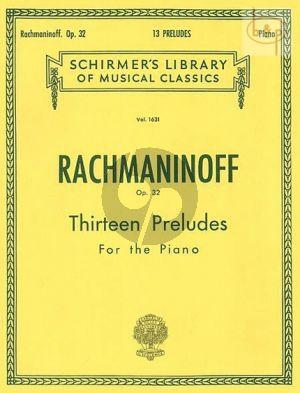 13 Preludes Op.32