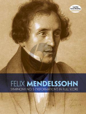 "Symphony No.5 d-minor ""Reformation""' MWV N.15 Score"