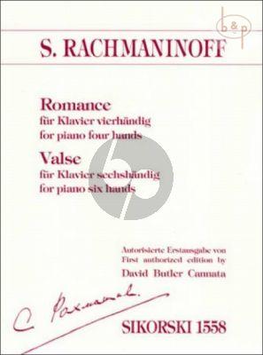 Romance (Piano 4hds) & Valse