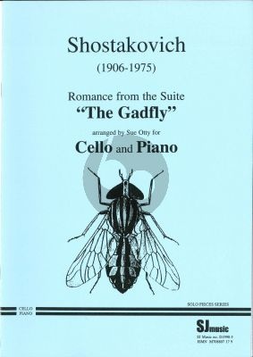Shostakovich Romance from the Gadfly Violoncello-Piano (transcr. by Sue Otty)